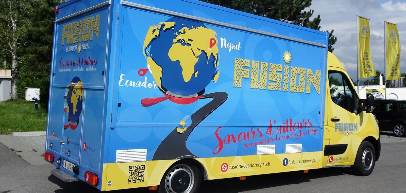 Foodtruck Fusion Ecuador Nepal