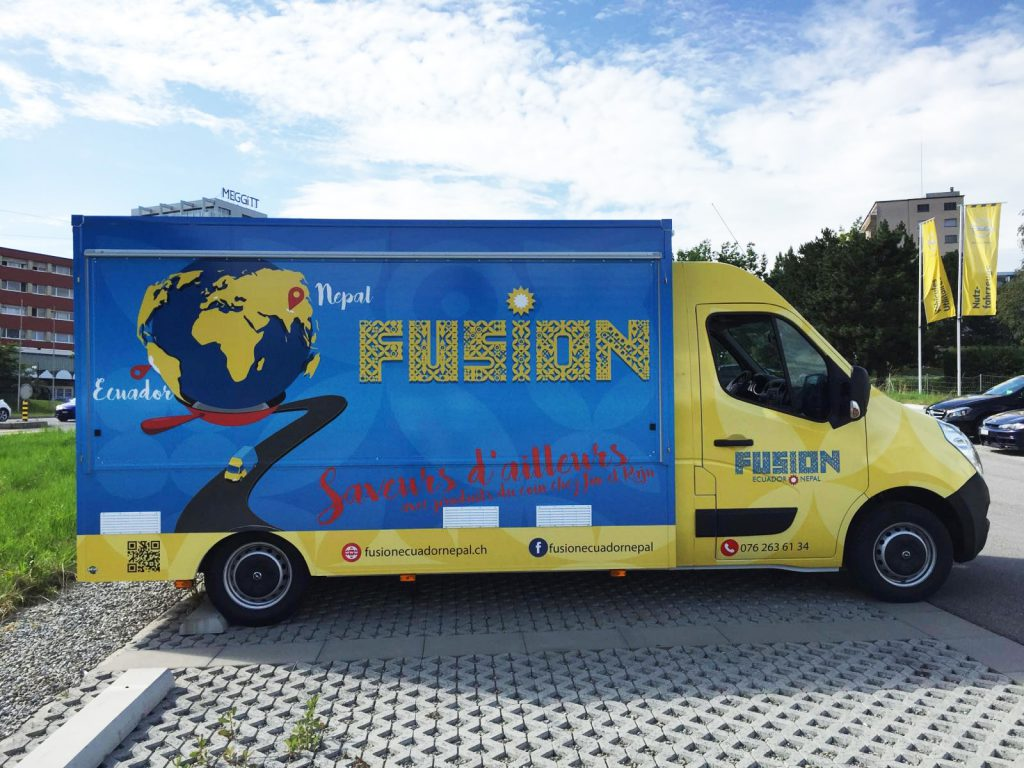 Fusion Ecuador Nepal Camion